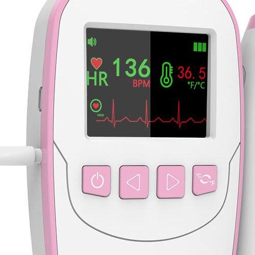Doppler fetal com termômetro de orelha