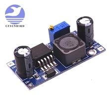 100 unids/lote LM2596 LM2596S DC DC módulo de fuente de alimentación reductor ajustable nuevo, alta calidad