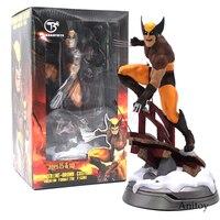 Super Eroe Marvel Logan Statua Premium Formato Marrone Costume Ver. PVC Figure Da Collezione Toy Model (può scambiare testa) 24 cm