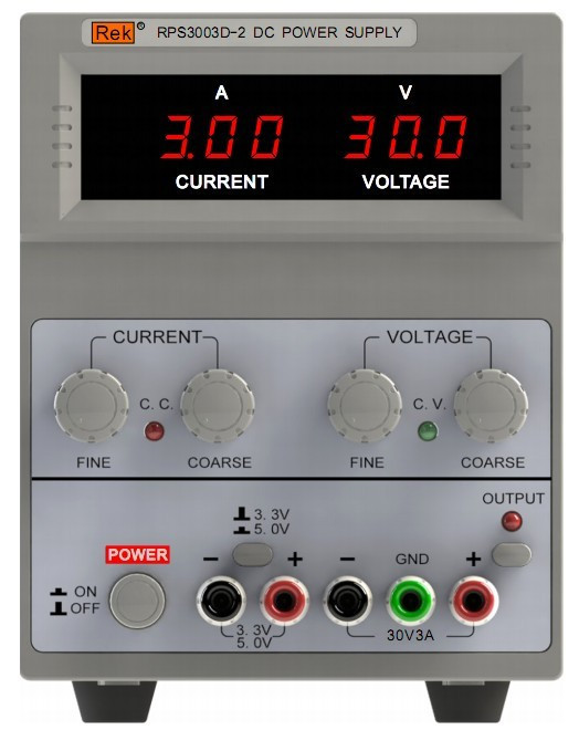 DC Power Supply RPS3003D-2 Generator Withstand voltage tester Pressure Hipot tester Resistance Electronics Parameter Audio power supply tester for voltage pg testing
