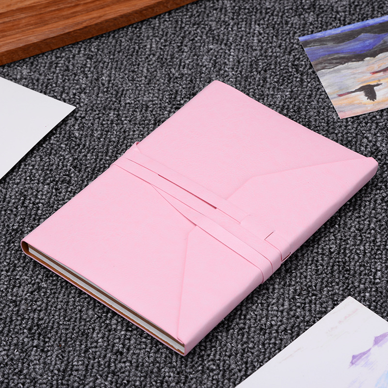 Leatherette Notebook Kraft Paper A5 Gift Cute Dotted Bullet Journal Bujo Puntos Pointed Notebooks Writing Pads dotted notebook stationery core business drawing chart bullet journal bujo notebooks writing pads