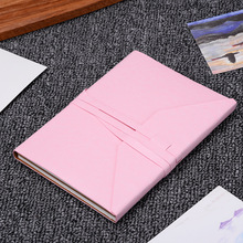PU Bullet Notebook Kraft Paper A5 Gift Cute Dot Grid Dotted Journal Bujo Puntos Pointed Notebooks Writing Pads стоимость
