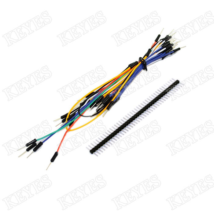 Starter Kit For Resistor Led Capacitor Jumper Wires