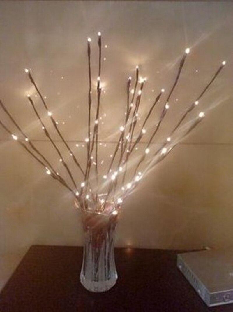 Led verlichting takken licht batterij licht bar bruiloft ...
