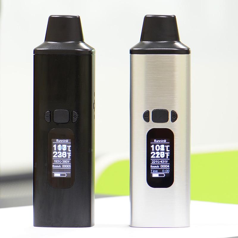 ALD AMAZE kit de vaporisateur d'herbes sèches fumée vaporisateur de cigarettes électroniques à base de plantes portable vape stylo avec 0.96 pouces grand écran Oled - 6