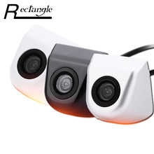 New Wide Angle Electroplated Car Rear View Camera High Waterproof IP67 Reverse Parking Camera Night Vision