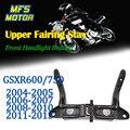 Для 04-13 Suzuki GSXR600 GSXR750 GSXR GSX-R 600 750 Верхний обтекатель Stay передняя фара кронштейн 2004 2005 2006 2007 2008-2013
