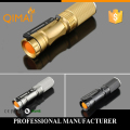 New 2015 High quality 3 Colors lantern Torch light mini LED Flashlight Strong Lumens Zoomable Penlight Lanterna[2016]