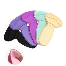 Almohadillas para zapatos de tacón alto, plantillas Súper suaves, almohadilla protectora del talón cómoda, cuidado de los pies, masaje cuidado de la salud, productos calientes, 1 par
