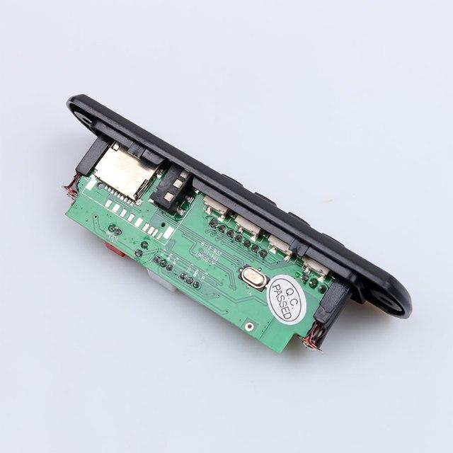 Новые Горячие 2017 Беспроводная Связь Bluetooth 12 В MP3 WMA Декодер Доска Аудио Модуль USB TF Радио Для Автомобиля аксессуары