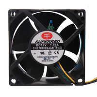 SUPERRED CHE7012FB-0A (TP) (E) 70*70*38mm DC12V 1.00A 7038 convertidor ventilador de refrigeración