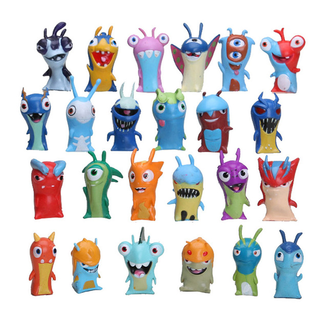 Toys For Boys Age 10 In Russian : Pcs set slugterra action figures toy cm mini