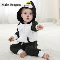 Newborn Clothing Patterns New Born 2pc Baby Girl Clothes Autumn Set Kids Longsleeve Hoodie Animal Fleece