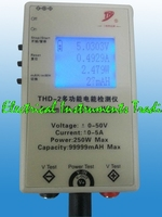 Fast arrival THD 2 Multi function DC energy tester power meter / battery capacity / mobile / notebook power tester 50 V/ 5A