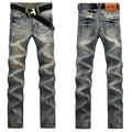 Free shipping !2015  Autumn and Winter Men's Jean pants fashion casual Men's jeans pants Slim Vintage Pants Jeans UK383