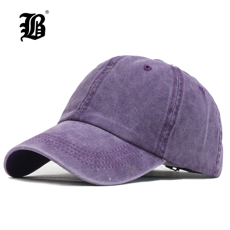 [FLB] 2019 Baseball Cap Messy Hats For Women Washed Cotton Snapback Caps Summer Sun Visor Female Sport Hat Dropshipping F340