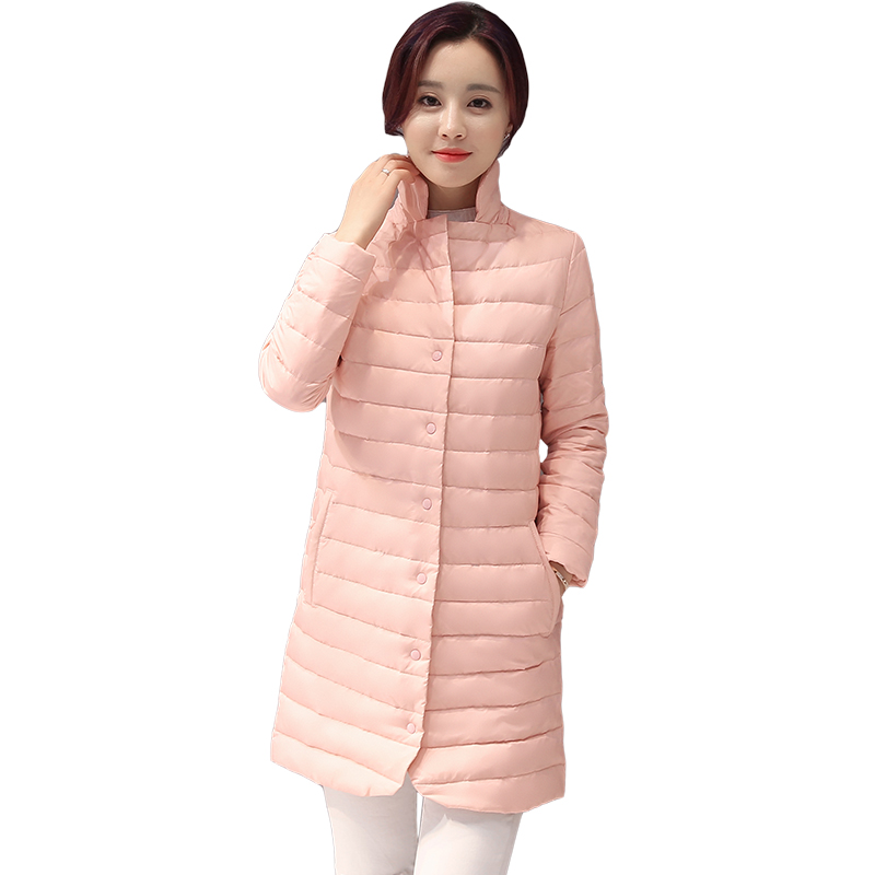 ALMUERK 2018 Winter Wadded Jacket Female Medium-long Slim Cotton-padded Jacket Outerwear Women's Hooded Coat Female Clothing 2015 new mori girl wave raglan hooded loose sleeve medium long wadded jacket female page 4