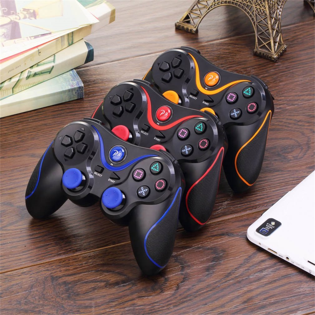 Wireless Bluetooth Joystick Pad Game Console Controller For Playstation PS3 Universal Gamer Home Gaming Device