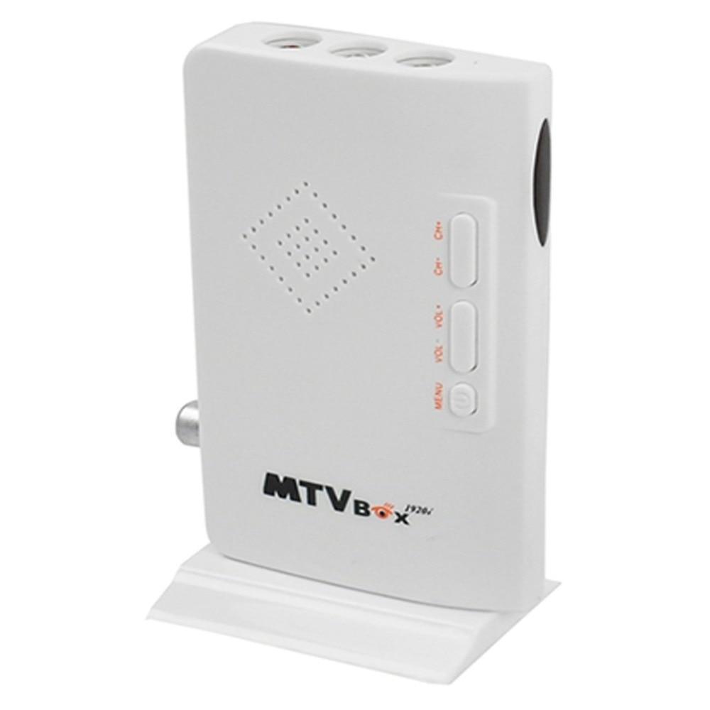 HD 1080P TV Box External HD LCD CRT VGA External TV Tuner MTV Box PC BOX Receiver Tuner AV To VGA With Remote Control TVTS798