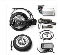 8 inch 400V 48V electric scooter spare parts , disc brake electric wheel hub motor
