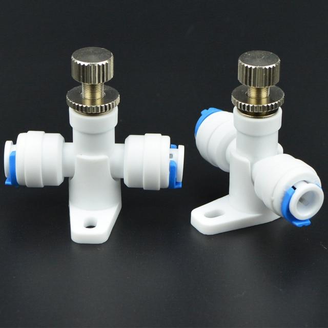 buy 2pcs new 1 4 39 39 flow control valve ro reverse osmosis membrane water. Black Bedroom Furniture Sets. Home Design Ideas