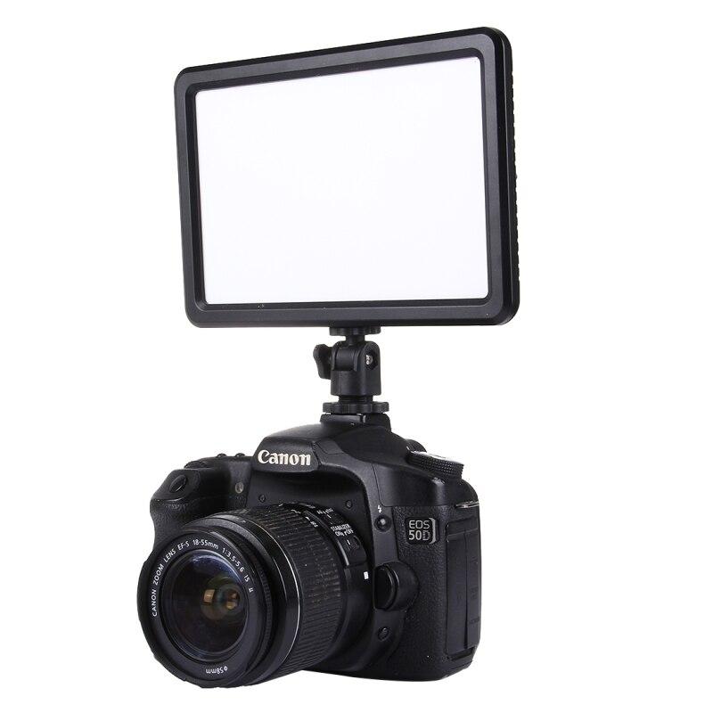 104 LED 850LM Flash LED lumière vidéo Photo éclairage sur appareil Photo hotboot lampe à LED éclairage pour Canon Nikon Sony caméscope DV DSLR