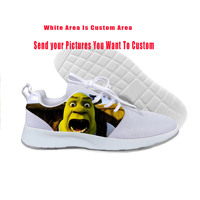 2019 Hot Cool Fashion New Summer Sneakers Handiness Casual Shoes 3D Printed Cartoon Cute Funny Fantasy Movie For Men Women Shrek