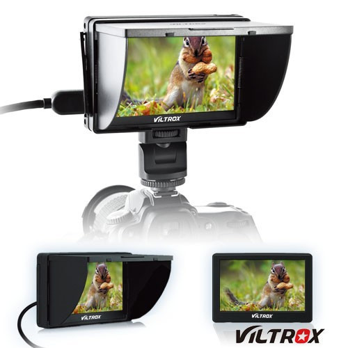 Viltrox DC-50 Clip-on Portable 5 TFT LCD Monitor with HDMI Video Input for Cameras & Camcorders