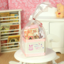 G06-X702 children baby gift Toy 1:12 Dollhouse mini Furniture Miniature rement baby user kits