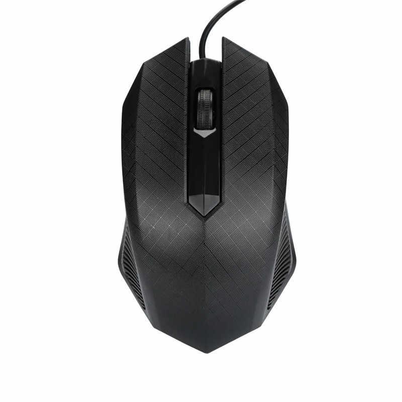 Hiperdeal Peripheral Komputer Wired Gaming Mouse untuk Notebook untuk Laptop Fashion 1600 Dpi USB Kabel Optik Gaming Mouse Mouse