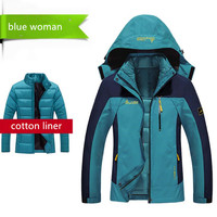 2017 Men Women's Winter White Duck Down Jacket Outdoor Sport Thermal Tectop Coat Hiking Camping Skiing Male Female Jackets