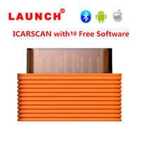 Original 2018 เปิดตัว ICARSCAN wifi เครื่องมือวินิจฉัยสำหรับ IOS Android บลูทูธในตัว Batter มากกว่า X431 IDIAG Easydiag