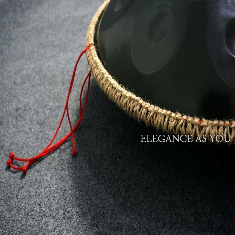 Hang drum hand woven rope cover Jute HandPan universal protection braided rope thickened rubber HandPan Hang Drum strip non slip in Parts Accessories from Sports Entertainment