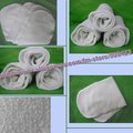 30pcs/lot 100%bamboo  liners Booster baby diaper insert nappy nappies Original Fabric--4layer material