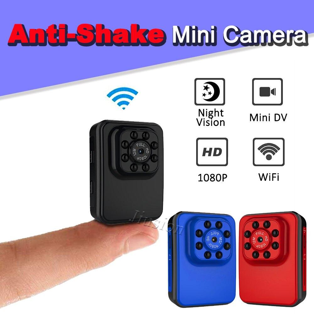 32GB Mini Wireless WIFI IP spy Infrared night vision hidden Pinhole camera DVR