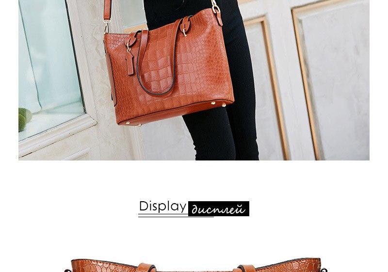 alligator crossbody bag for women shoulder bag female handbag ladies elegant shopping bag_11