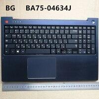 BG layout backlit  new laptop keyboard with touchpad palmrest for Samsung NP670Z5 NP670Z5E NP680Z5E 680Z5G  BA75-04634J