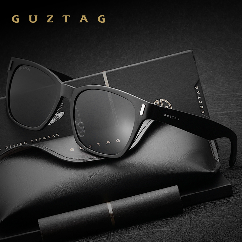 GUZTAG Unisex Aluminum Square Men/Women HD Polarized Mirror UV400 Sun Glasses Eyewear Sunglasses For Men oculos de sol G9260