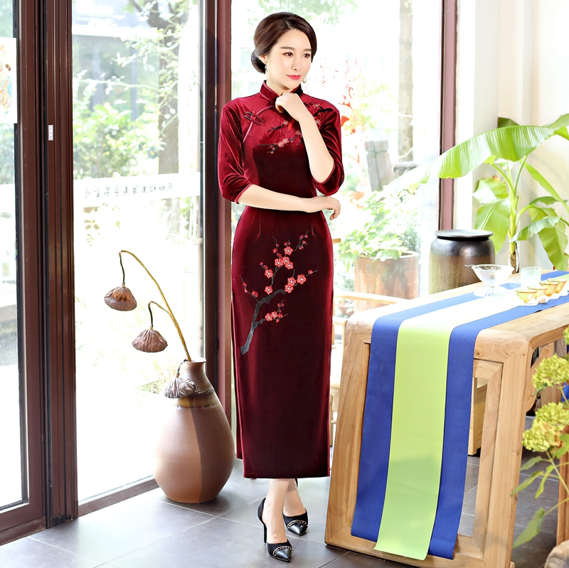 09d0076dd3c35 Buy mandarin collar dress white and get free shipping on AliExpress.com