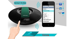 Original  SDY-021 Big power Portable Wireless Bluetooth Speaker 10W Stereo audio sound with microphone Broadcast Caller