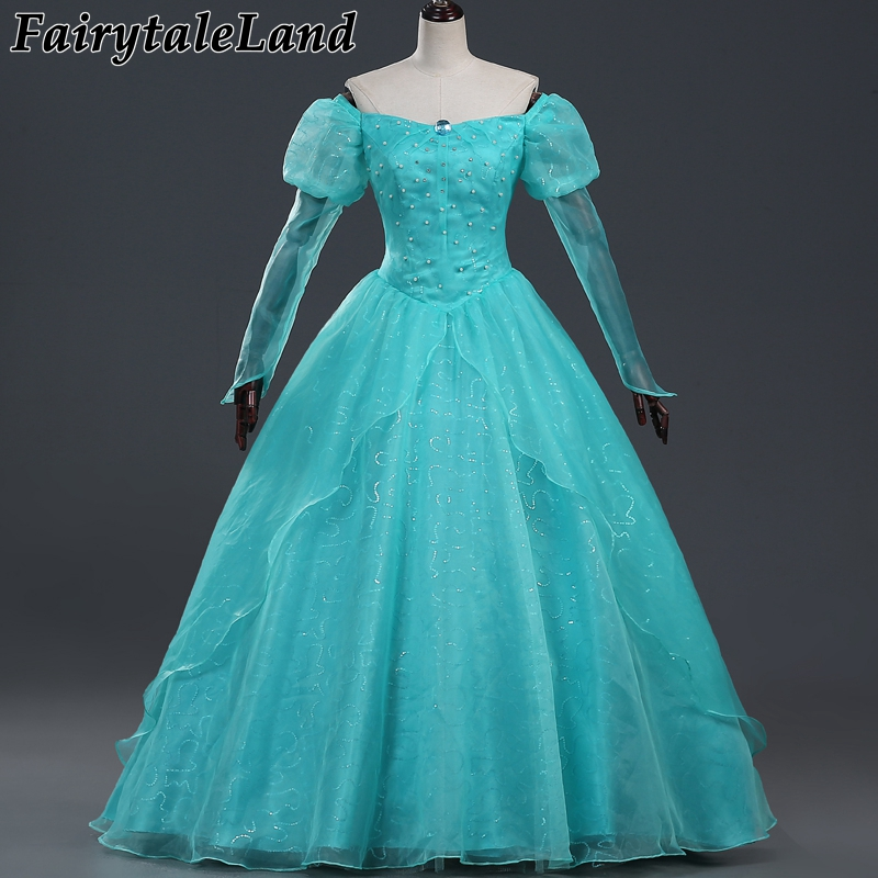 The little Mermaid Princess Ariel cosplay costume Halloween costumes for adult women party princess Ariel dress custom made