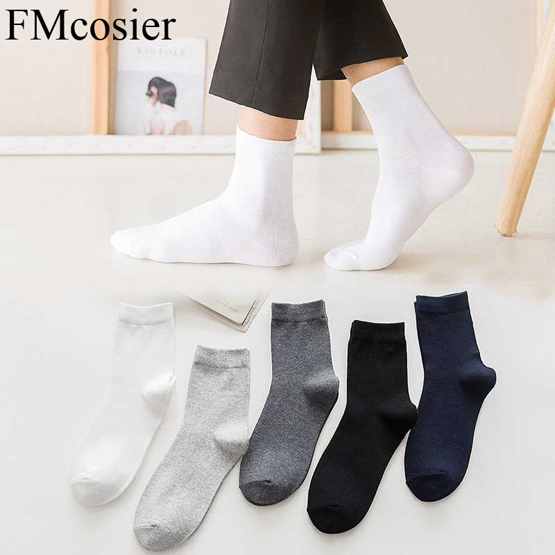 10 Pairs Fashion High Quality Casual Polyester Mens Business Classic Marvel Dress Thin Socks Solid Color Meia Sokken Socken New