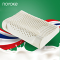 NOYOKE 50*30*10-8 cm Thailand Imports Natural Latex Orthopedic Pillow Cervical Spine Health Care Natural Latex Pillow