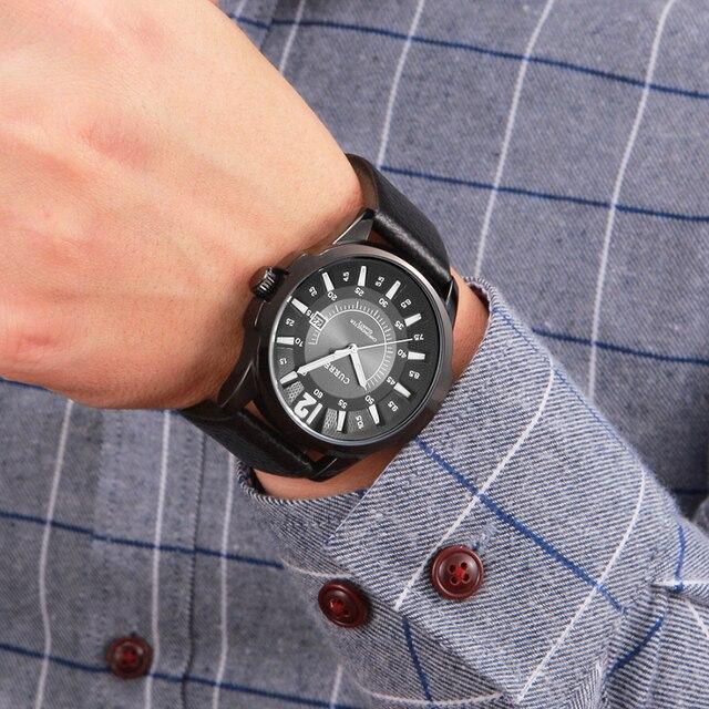 Men Business Waterproof Casual Wrist Watch 5