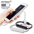 USB Date Cable 500mAh Power Bank Emergency Charging Mini PowerBank Mobile Charger External Battery Pack Backup Power for iPhone