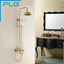 Luxury 8 Inch Big Bath&Shower Faucets Mixers Taps Bathroom Shower Sets Hotels Chuveiro Lanos Lada Ducha