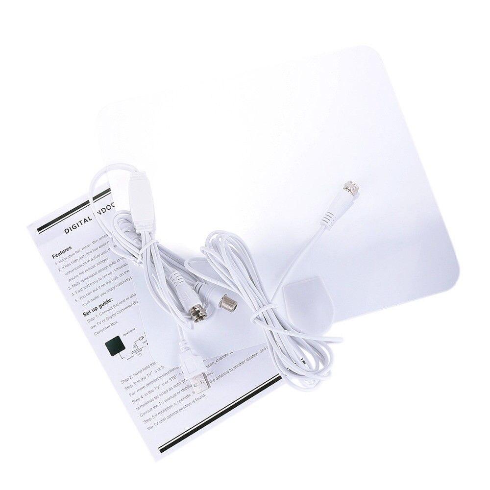 US $12 13 19% OFF|AH LINK HD 4K Indoor Freeview TV Radius Antena HDTV  Digital TV Surf Fox Antenna DVB T DVB T2 VHF UHF with Signal Amplifier-in  TV
