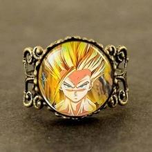 Steampunk Anime Dragonball Dragon Ball Z Gohan Ring mens doctor dr who 1pcs/lot men jewelry women new