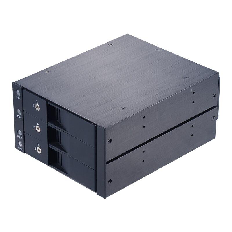 """Uneatop ST3530 3-залив 3.5"""" SATA жесткий Внутренний корпус"""