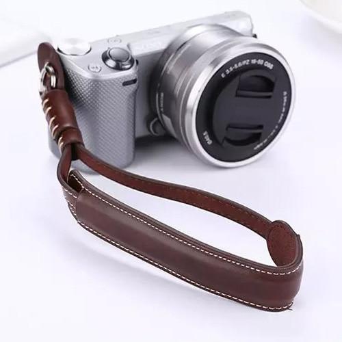 PU En Cuir Caméra Poignet Corde Pour Samsung NX3000 NX2000 NX1000 NX500 NX200 NX300 NX300M